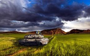 Картинка Пейзаж, Танк, Україна, Оплот