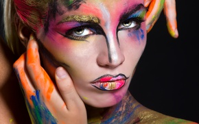 Картинка fashion, look, makeup