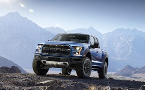 Картинка горы, Ford, Форд, Раптор, Пикап, Raptor, F-150, предок