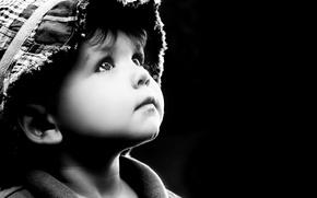 Картинка childhood, children, дети, ребенок, детство, грусть, child, looking up, sad little boy, грустный мальчик, глядя ...