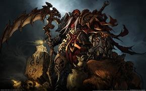 Картинка всадник Апокалипсиса, wrath of war, darksiders