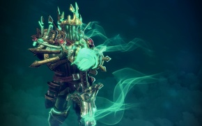 Обои Wraith King, DOTA 2, скелет, warrior., Leorik King, Игры, Hero, Games, Герой, Дота, Leoric, Воин, ...