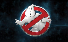 Обои cinema, film, official wallpaper, wallpaper, logo, ghost, sugoi, 4k, Ghostbusters, paranormal entity, movie, poltergeist, hd