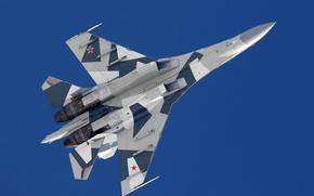 Картинка полет, Самолет, ВВС России, СУ-35С