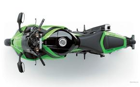 Картинка Kawasaki, motorcycle, ninja zx-10r, мотоциклы, motorbike, ninja