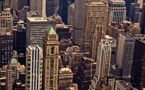 Картинка windows, USA, United States, New York, Manhattan, NYC, New York City, buildings, architecture, skyscrapers, structure, ...