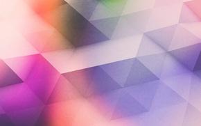 Картинка линии, цвет, текстура, объем, грань, треугольник, ребро