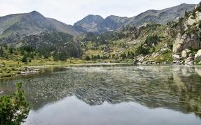 Картинка lac, carlit, pyrennee