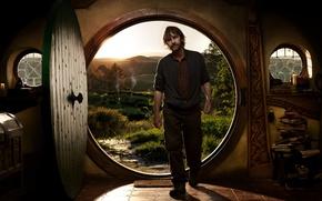 Обои порог, the hobbit, дверь, режиссер, хоббит, питер джексон, съемки, peter jackson