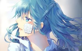 Картинка девушка, аниме, арт, vocaloid, hatsune miku, upscale, hinata-t6, rolling girl