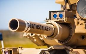 Обои боевой, танк, ствол, дуло, оружие