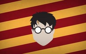 Картинка минимализм, Гарри Поттер, Harry Potter, blo0p