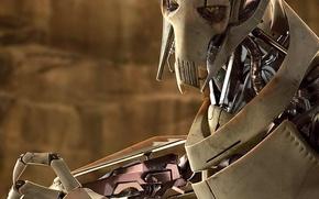 Обои звездные войны, Генерал Гривус, Star Wars