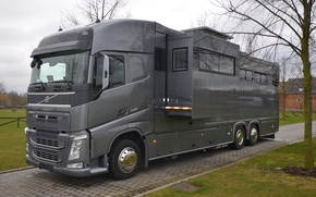 Картинка Volvo, дом на колёсах, gigaspace