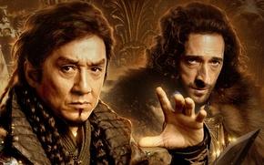 Картинка Джеки Чан, Jackie Chan, Adrien Brody, Эдриан Броуди, Меч дракона, Tian jiang xiong shi