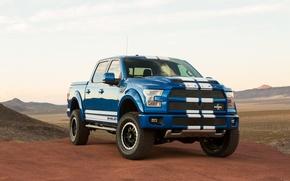 Картинка пустыня, Ford, Shelby, F-150, 2016