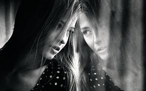 Картинка отражение, портрет, Света, Георгий Чернядьев