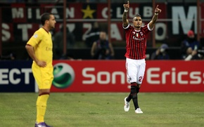 Картинка милан, pato, футбольные обои, football wallpapers hd, ac milan, seedorf, football hd, thiago silva, команда …