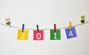 Обои 2014, праздник, новый год