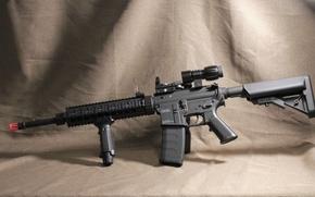 Картинка оружие, фон, KWA SR-10