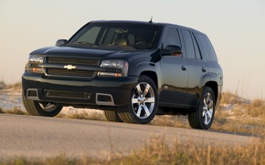 Картинка Chevrolet, Шевроле, Чёрный, Триал Блейзер, SUV, СУВ, TrialBlazer