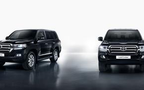Обои Toyota, тойота, Land Cruiser, лэнд крузер