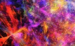 Картинка краски, цвет, радуга, объем, пятно, рельеф