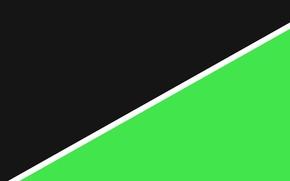 Картинка белый, черный, линия, салатовый, material