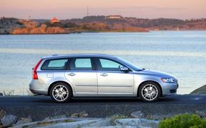 Картинка Volvo, S40, люкс, универсал, V50, безопасный, второе поколение, second generation