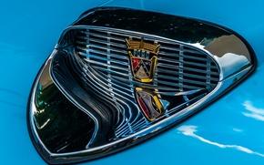 Картинка макро, Ford, решетка, эмблема
