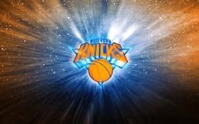 Картинка Баскетбол, Фон, Логотип, Нью Йорк, New York, NBA, New York Knicks, Майки