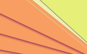 Обои Android, линии, текстура, фон, желтый