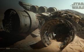 Картинка Star Wars, Звёздные войны, Разбитый корабль