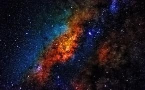 Картинка космос, звезды, Млечный Путь, тайны