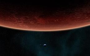 Обои Звезды, Planets, Stars, Планеты, Красная Планета