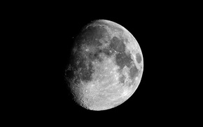 Обои Космос, Луна, спутник