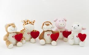 Обои сердце, любовь, romantic, bear, sweet, toy, love, heart
