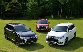 Картинка 2015, JP-spec, Mitsubishi, Outlander, аутлендер, мицубиси, PHEV