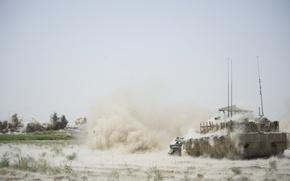 Обои война, Leopard 2A6, танк, афганистан