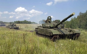 Картинка танк, Россия, военная техника, ОБТ, Т-72 Б