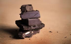Картинка Макро, Шоколад, Сладости, Разное