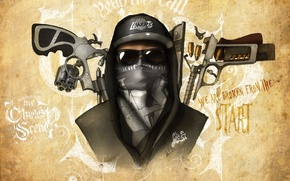 Картинка Charlie Scene, Hollywood Undead, artwork, Notes from the Underground