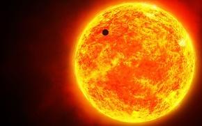 Обои Солнце, космос, меркурий