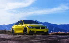 Картинка BMW, Austin, Yellow, F82, VMR, V710