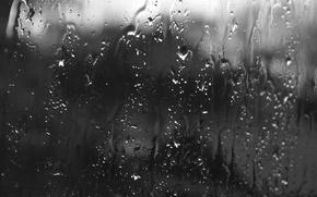 Картинка стекло, капли, дождь, окно