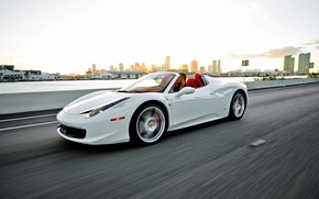 Картинка Ferrari, суперкар, supercar, феррари, 458, Italia, Spider