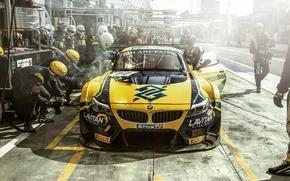 Картинка BMW, Monza, Blancpain GT Series, Pit Lane, Team Brasil