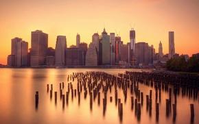Картинка water, New York, manhattan, Smooth, Financial District, Silk, Docks
