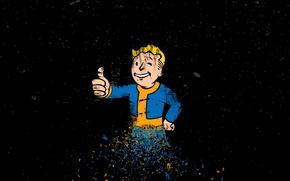 Картинка Fallout, Game, Bethesda, Vault Boy, Softworks