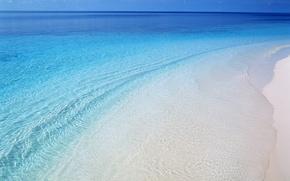Обои море, волны, вода, берег, пляж, beach